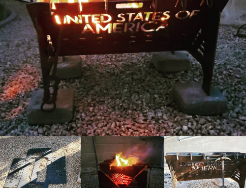 Metal Art Fire Pit